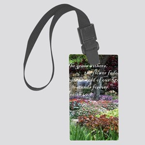 stands_forever Large Luggage Tag