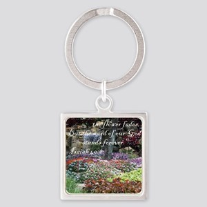 stands_forever Square Keychain