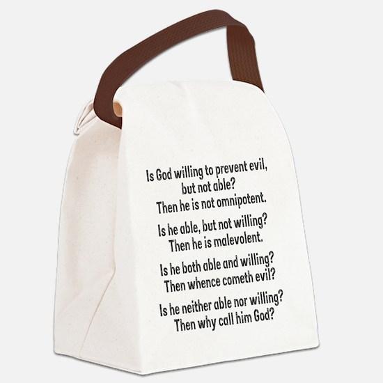 probgod Canvas Lunch Bag