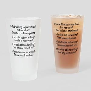 probgod Drinking Glass