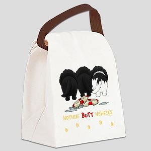 NewfieTransNew Canvas Lunch Bag