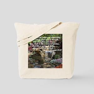 Watered Garden Tote Bag