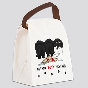 NewfieButtsNew Canvas Lunch Bag
