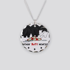 NewfieButtsNew Necklace Circle Charm