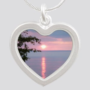 LKSu1010 Silver Heart Necklace