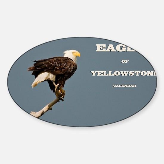 cover eagle Sticker (Oval)