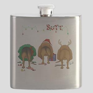 BloodhoundShirtDark Flask