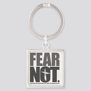 FearNot Square Keychain