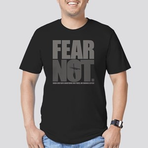 FearNot Men's Fitted T-Shirt (dark)