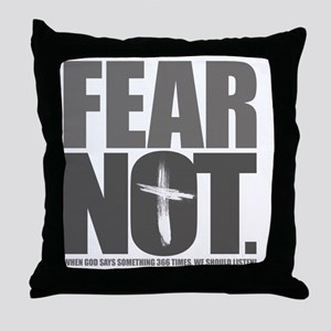 FearNot Throw Pillow