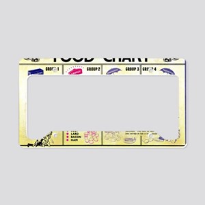 poster License Plate Holder