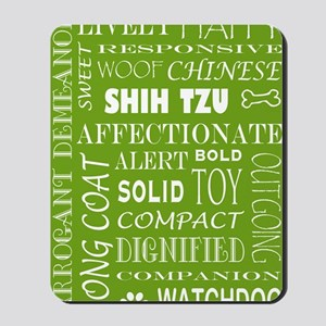 SHIH TZU_edited-2 Mousepad
