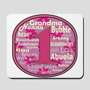 #1 Grandmother Mousepad