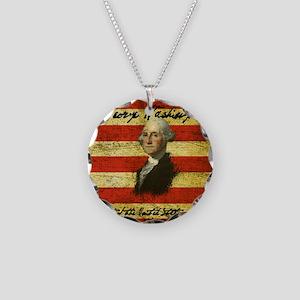 Washington Necklace Circle Charm