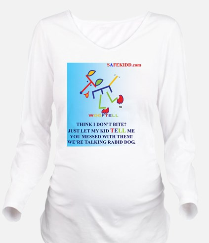 I BITE Long Sleeve Maternity T-Shirt