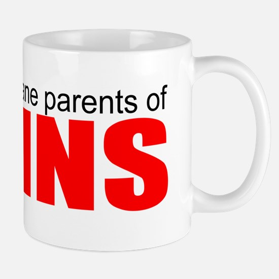 Sane parents of twins Mug