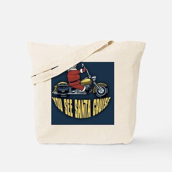 Santa-cruise-BUT Tote Bag