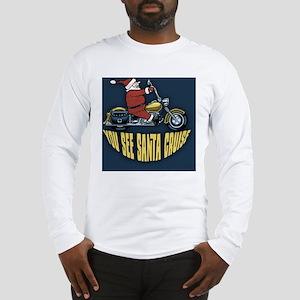 Santa-cruise-BUT Long Sleeve T-Shirt