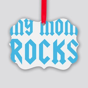 mymomrocksblueCP Picture Ornament
