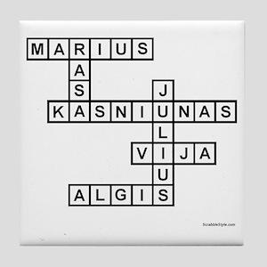 BYLINA 1 KASNIUNAS Tile Coaster