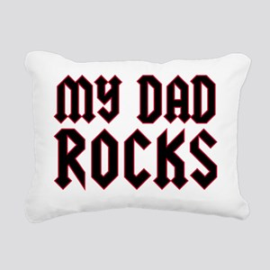 mydadrocksCP Rectangular Canvas Pillow