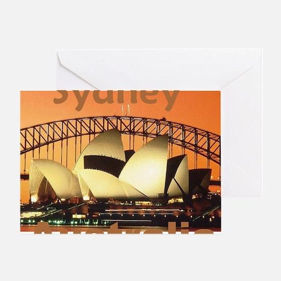 SYDNEY Greeting Card