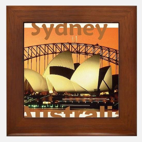 SYDNEY Framed Tile