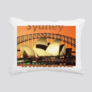 SYDNEY Rectangular Canvas Pillow