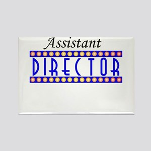 Assistant Director Rectangle Magnet