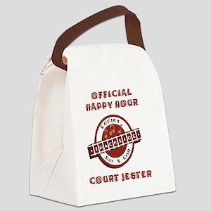 transparentJESTER copy Canvas Lunch Bag
