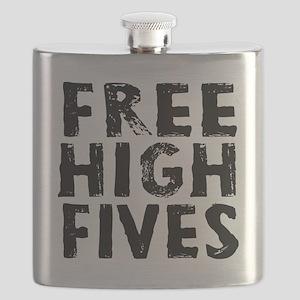 HIGH FIVE BLK Flask