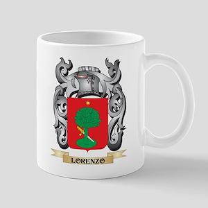 Lorenzo Coat of Arms - Family Crest Mugs