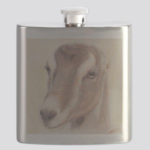 LaMancha Doe Portrait Flask