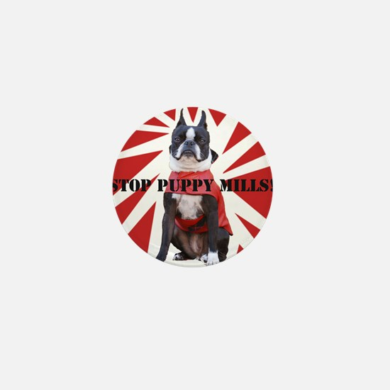 10x10_StopPuppyMill Mini Button