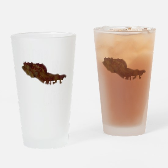 MEAT CANDY Drinking Glass