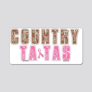 COUNTRY TA-TAS 2 Aluminum License Plate