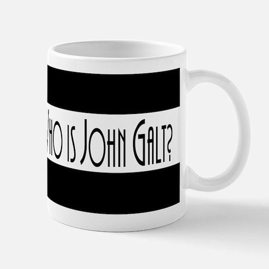 Who Is John Galt? Large Mugs