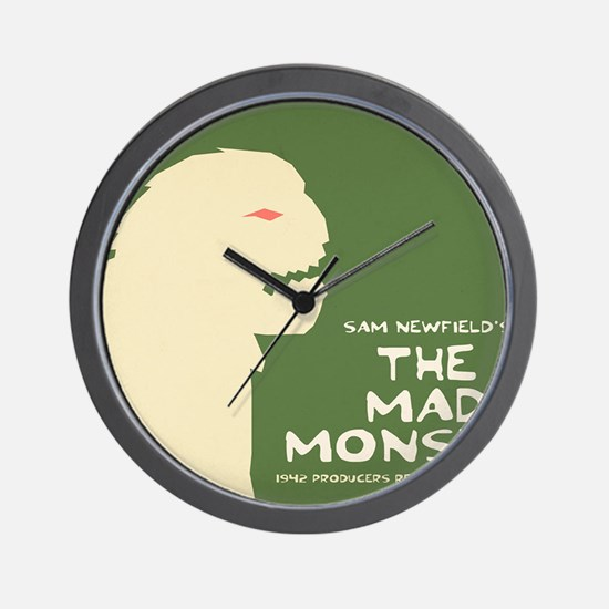 the mad monster Wall Clock