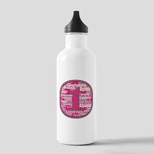 #1 Grandmother Water Bottle