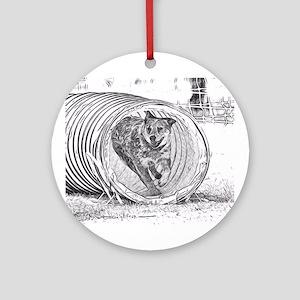 Tunnel Love Ornament (Round)
