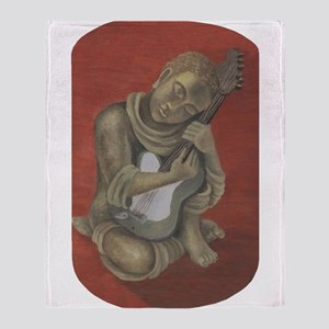 Buddhas Song Throw Blanket