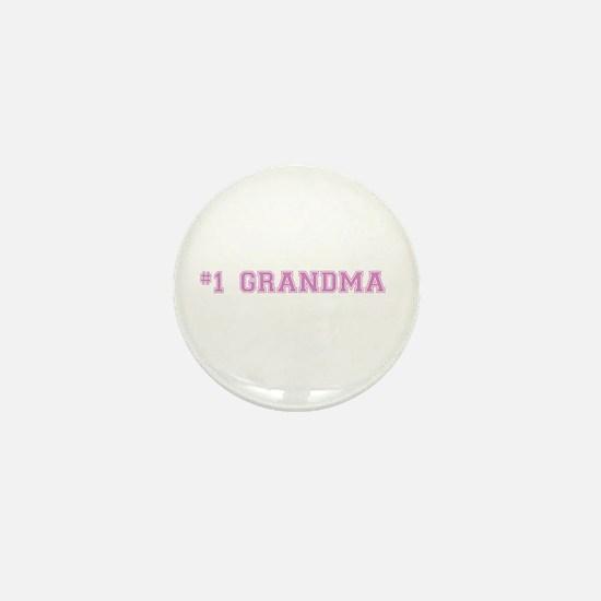 #1 Grandma Mini Button