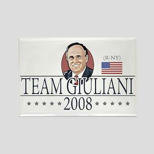 Team Giuliani 2008 Rectangle Magnet