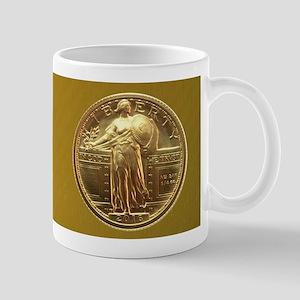 Standing Liberty Gold Quarter Mugs