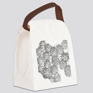 Strawberry Cactus Canvas Lunch Bag