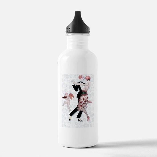 4 SLIDER-BARBIER -Flap Water Bottle