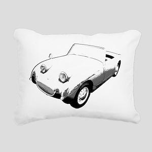Bugeye Sprite for dark Rectangular Canvas Pillow