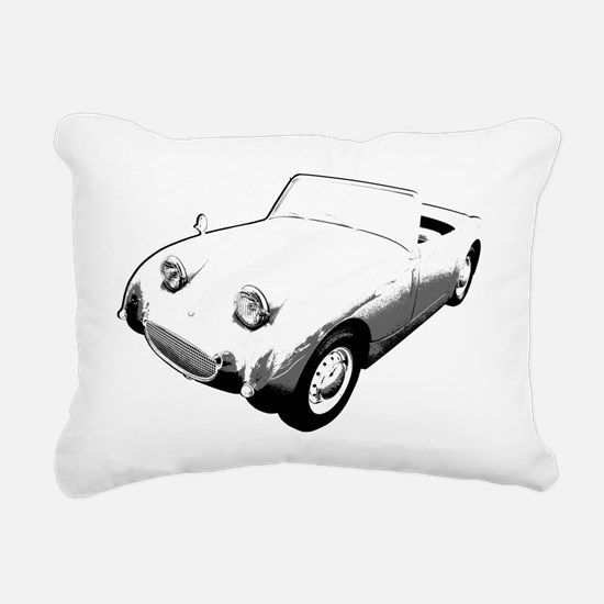 Bugeye Sprite for dark Rectangular Canvas Pillow
