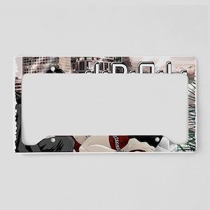 Idol_wallcalendar License Plate Holder