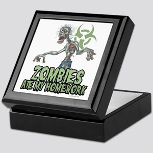 Zombies-Ate-Homework Keepsake Box